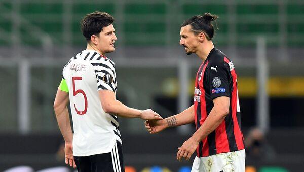 Manchester United - Milan - UEFA Avrupa Ligi - Sputnik Türkiye