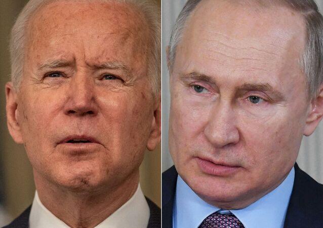 Joe Biden- Vladimir Putin