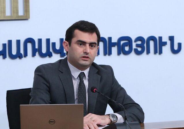 Ermenistan Bilişim Bakanı Hakob Arshakyan