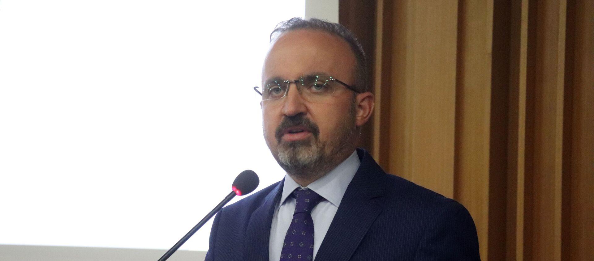 AK Parti Grup Başkanvekili ve Çanakkale Milletvekili Bülent Turan - Sputnik Türkiye, 1920, 25.07.2021