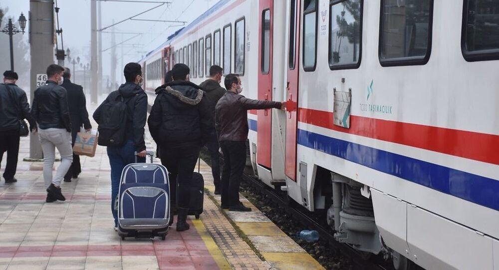 Kapıkule-Halkalı treni