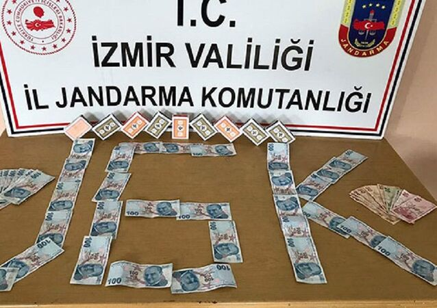 Çadırda kumar oynayanlara 24 bin 822 lira para cezası