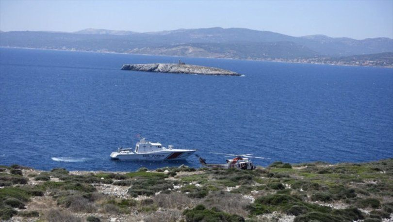 İzmir'in Çeşme ilçesi açıklarında Yunanistan unsurlarınca denize atılan ve 3 gündür aranan sığınmacı, Sahil Güvenlik ekiplerince Boğaz Adası'nda bulundu.
