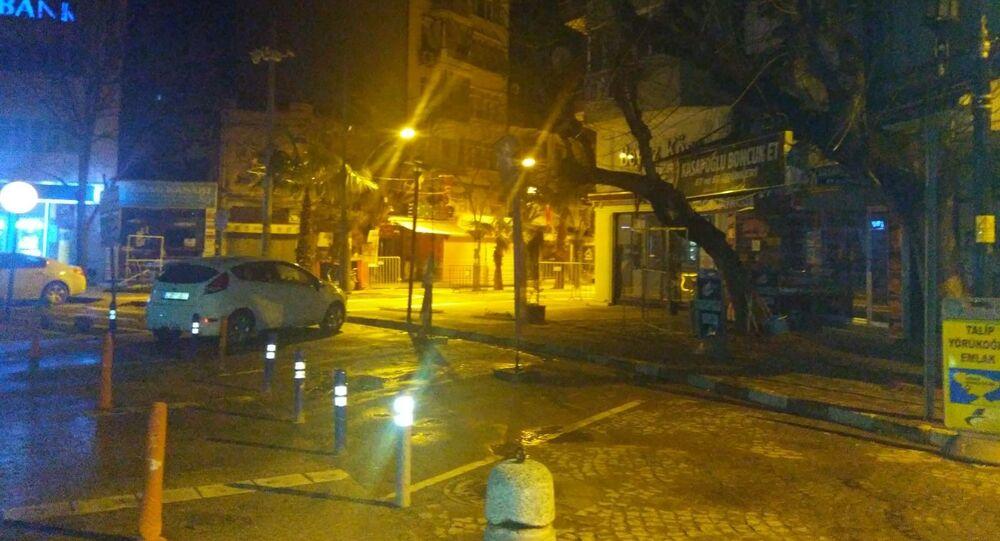 Balıkesir'in Erdek ilçesi açıklarında, Marmara Denizi'nde 3.7 şiddetinde deprem meydana geldi.