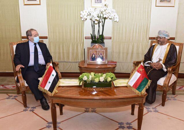 Suriye Dışişleri Bakanı Faysal Mikdad Umman'da