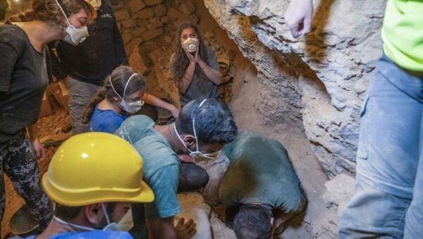 İsrail'de 6 bin yıllık çocuk iskeleti bulundu - Sputnik Türkiye