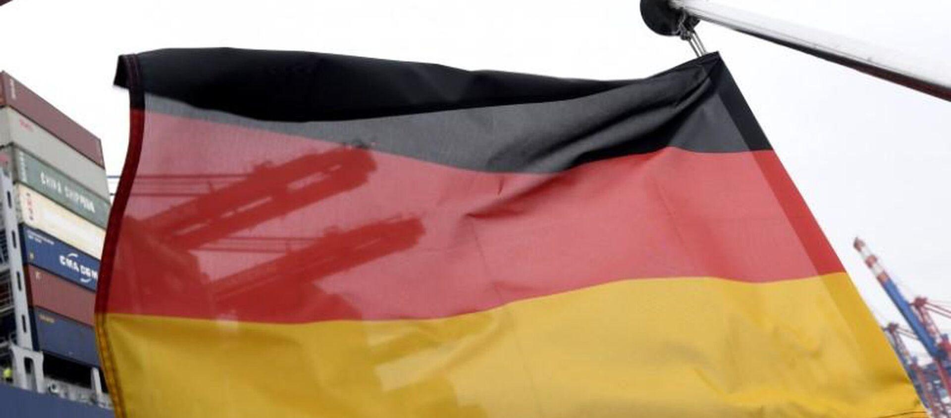 Almanya bayrağı - Sputnik Türkiye, 1920, 12.07.2021