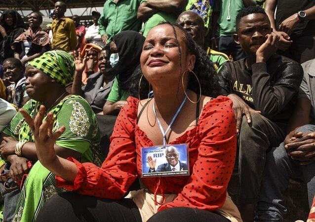 Eski Tanzanya Devlet Başkanı Magufuli'nin cenazesi