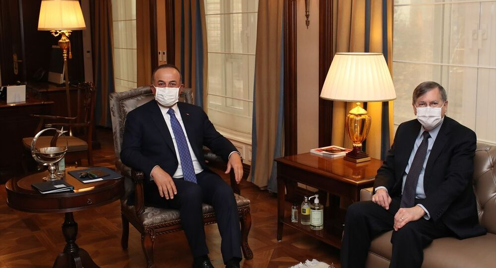 Dışişleri Bakanı Mevlüt Çavuşoğlu, ABD'nin Ankara Büyükelçisi David Satterfield