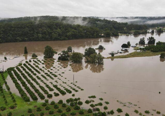 Avustralya'da sel suları