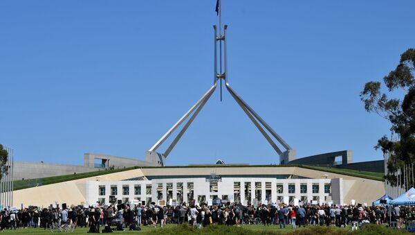 Avustralya parlamento - Sputnik Türkiye