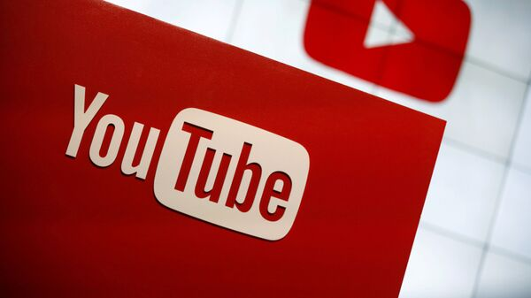 Youtube logo - Sputnik Türkiye