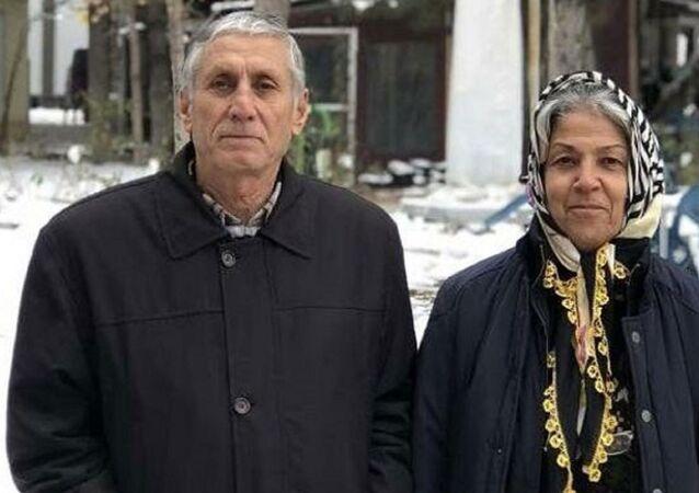 Mehmet Fevzi Atay (70) ve Elif Atay (69)