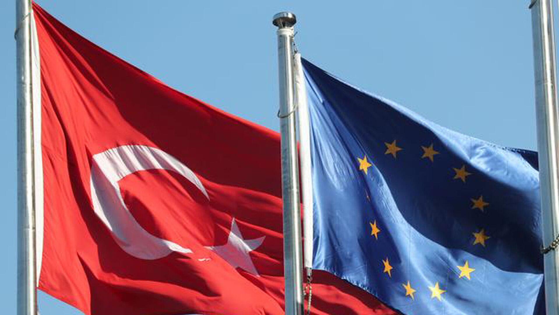 AB Türkiye bayrakları - Sputnik Türkiye, 1920, 30.07.2021