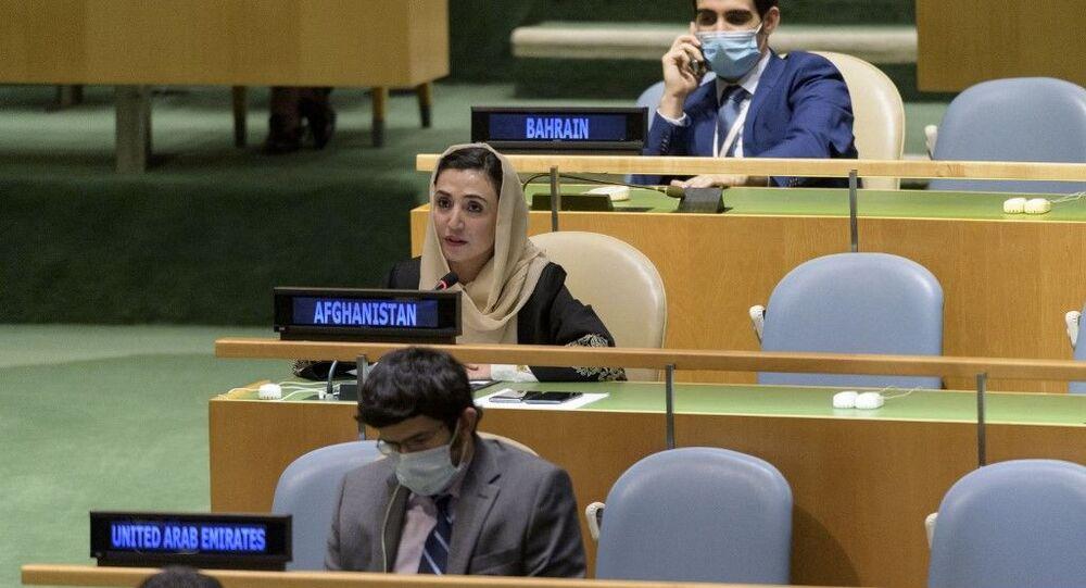 Afganistan'ın Birleşmiş Milletler Daimi Temsilcisi Adela Raz