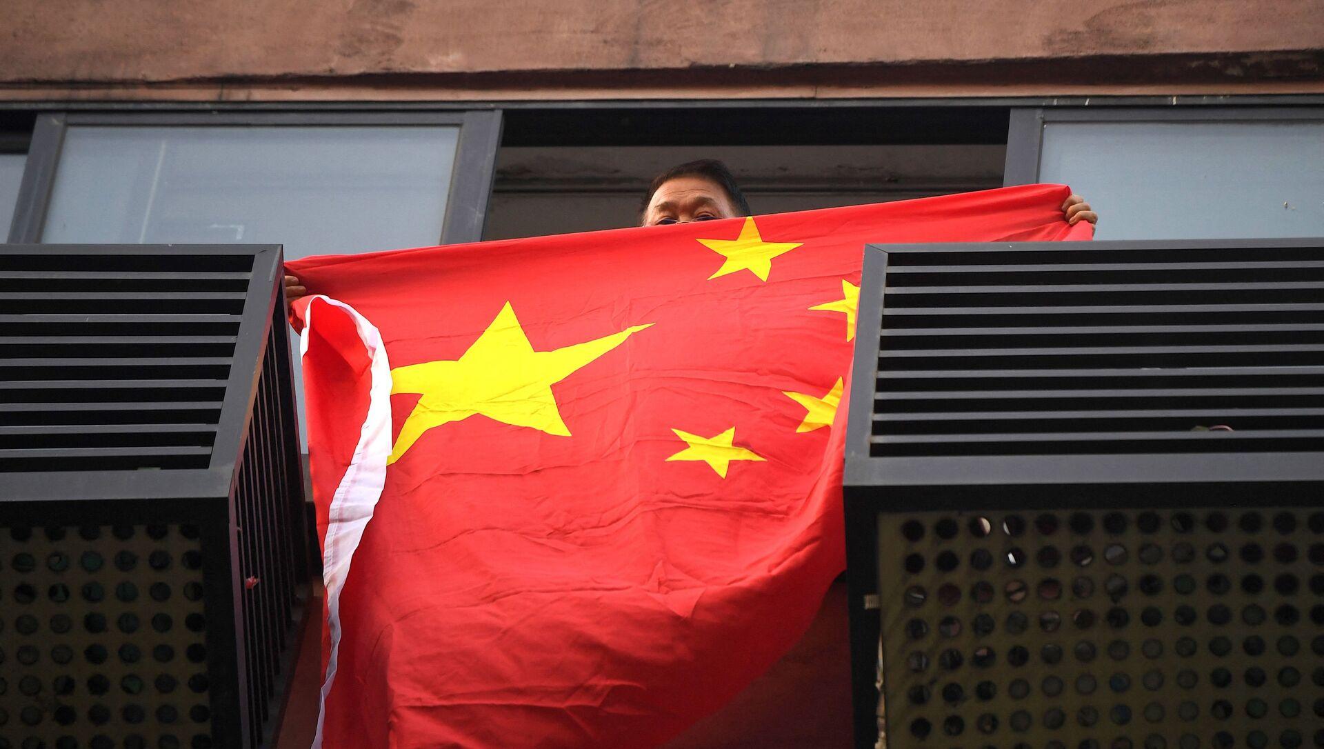 Çin bayrağı  - Sputnik Türkiye, 1920, 06.04.2021