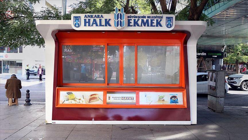 Ankara Halk Ekmek büfesi
