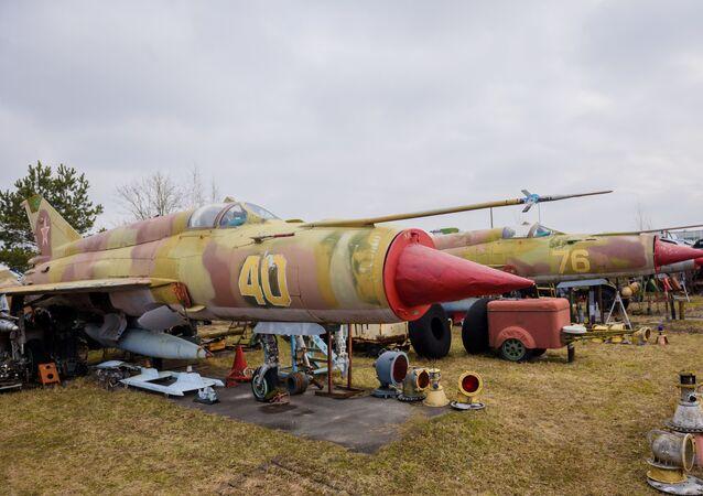 Sovyet döneminden kalma uçak müzesi kapanma tehlikesiyle karşı karşıya