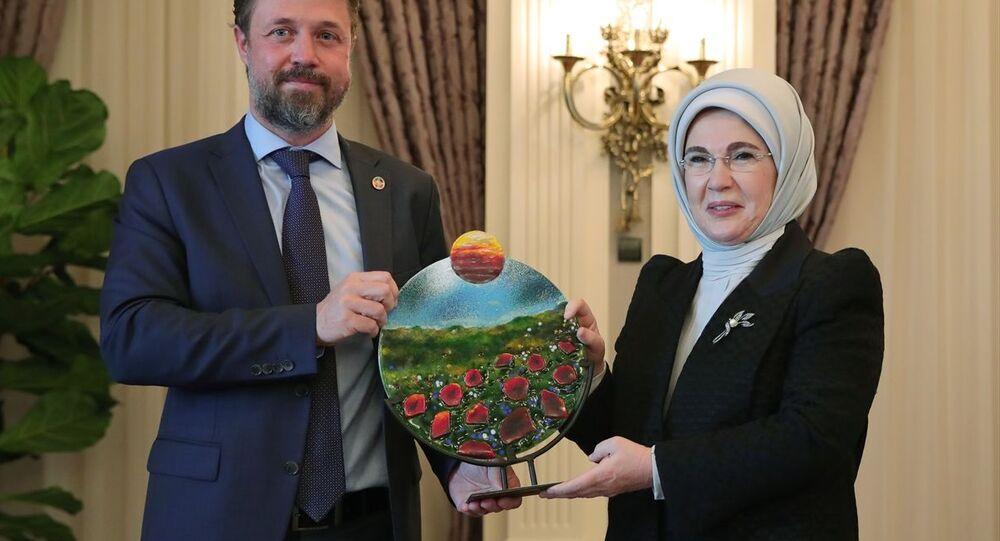 Emine Erdoğan, BM'nin Küresel Amaçlar Eylem Ödülü