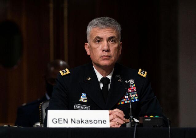 ABD Ulusal Güvenlik Ajansı Direktörü ve Siber Kuvvetler Komutanı Orgeneral Paul M. Nakasone
