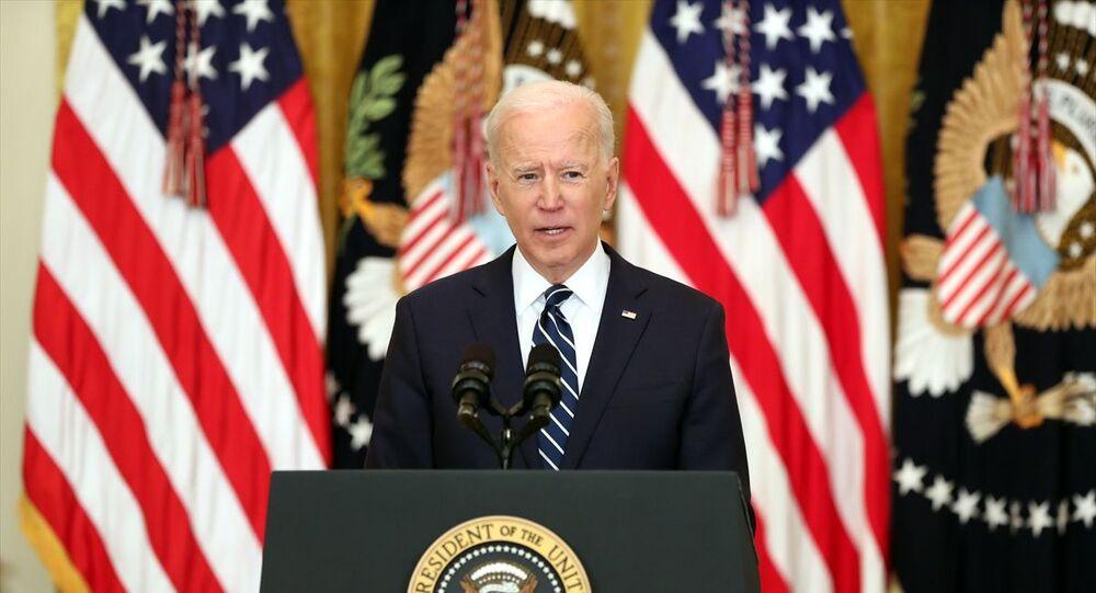ABD Başkanı Joe Biden, görevdeki ilk resmi basın toplantısını bugün Beyaz Saray'da gerçekleştirdi.