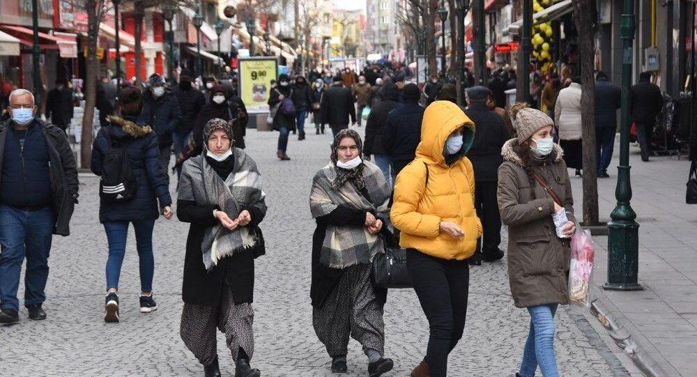 Eskişehir, koronavirüs, maske, cadde