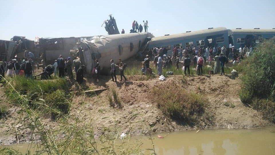 Mısır'da tren kazası: 50 yaralı - Sputnik Türkiye