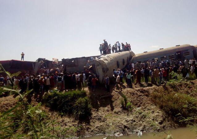 Mısır tren kazası