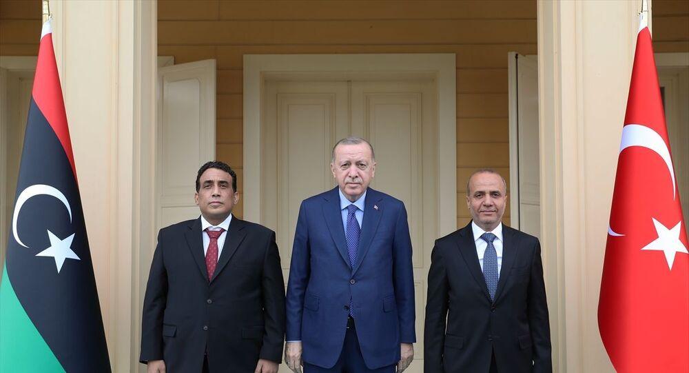 Recep Tayyip Erdoğan - Yunus el-Menfi