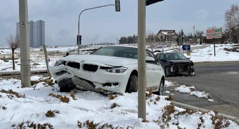 AK Parti Milletvekili Muhammed Fatih Toprak, Ankara'da trafik kazası geçirdi