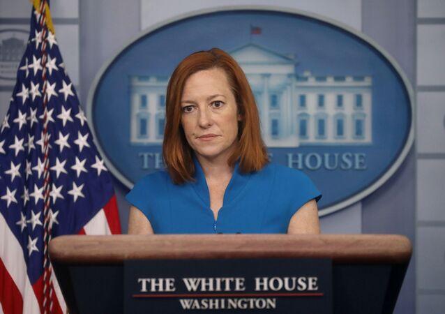 Beyaz Saray Sözcüsü Jen Psaki