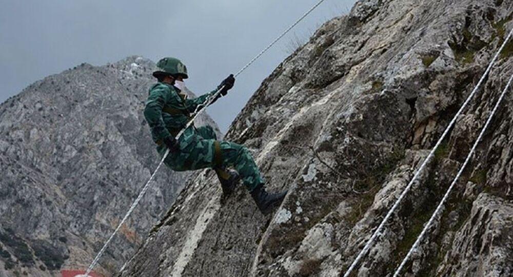 Milli Savunma Bakanlığı: Azerbaycan askerlerine 'dağcılık eğitimi' verildi