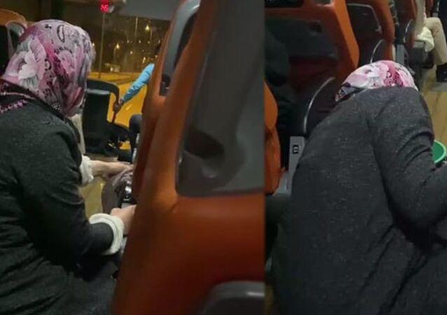 Kamil Koç otobüsünde engelli yolcuya 'temizlik yaptırıldı' iddiası