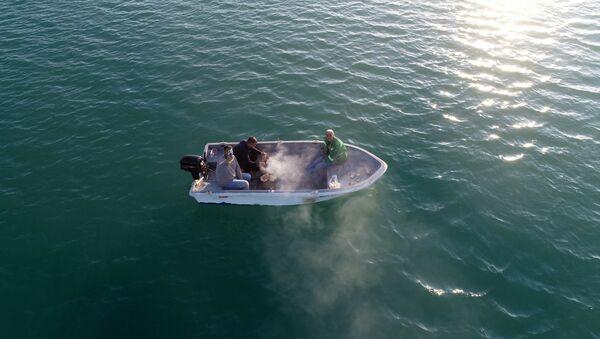 Adana'da teknede mangal - Sputnik Türkiye