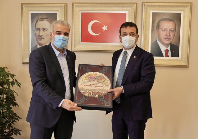 Ekrem İmamoğlu - Osman Nuri Kabaktepe