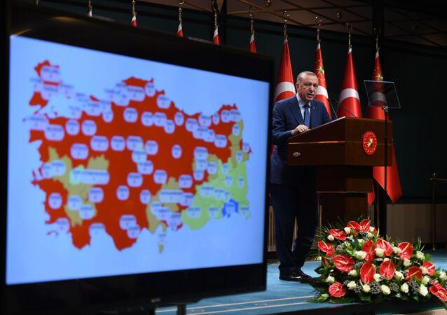 Cumhurbaşkanı Recep Tayyip Erdoğan, kabine toplantısı sonrası yeni koronavirüs kararlarını açıkladı