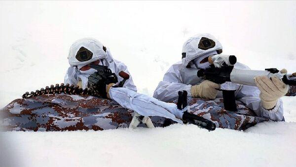 Eren-5 operasyonu, asker, - Sputnik Türkiye