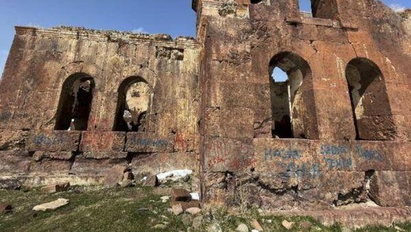 Kızıl Kilise'de defineci tahribatı - Sputnik Türkiye