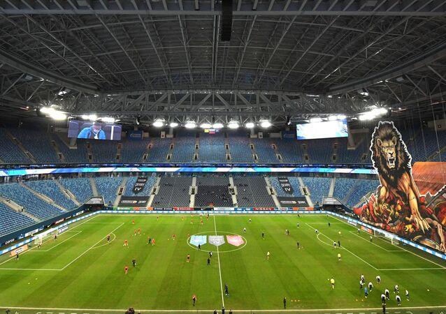 St.Petersburg'da oynanacak EURO 2020 maçlarında tribünlerin yarısının dolmasına izin verilecek