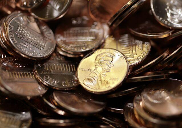 ABD-  Dolar- Madeni para
