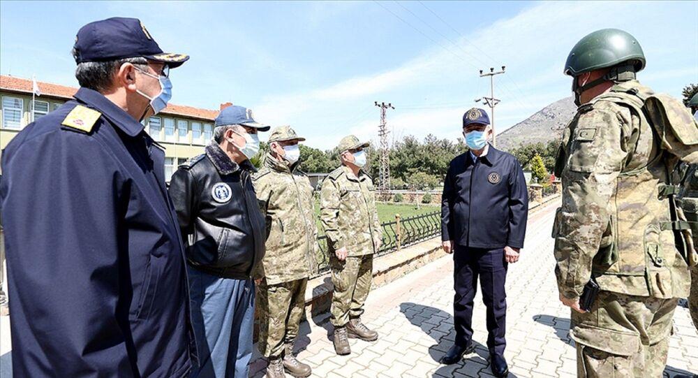 Milli Savunma Bakanı Hulusi Akar - Gökçeada