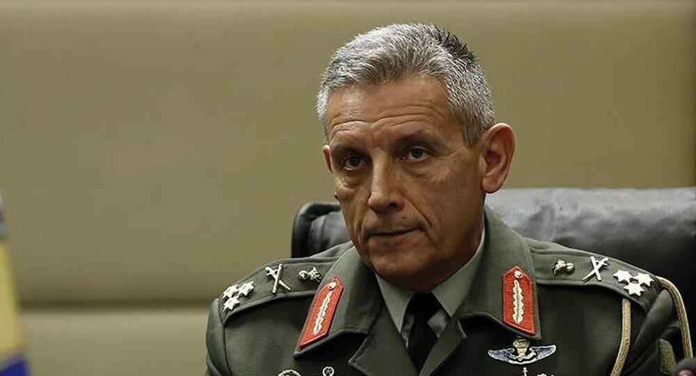 Yunanistan Genelkurmay Başkanı General Konstantinos Floros