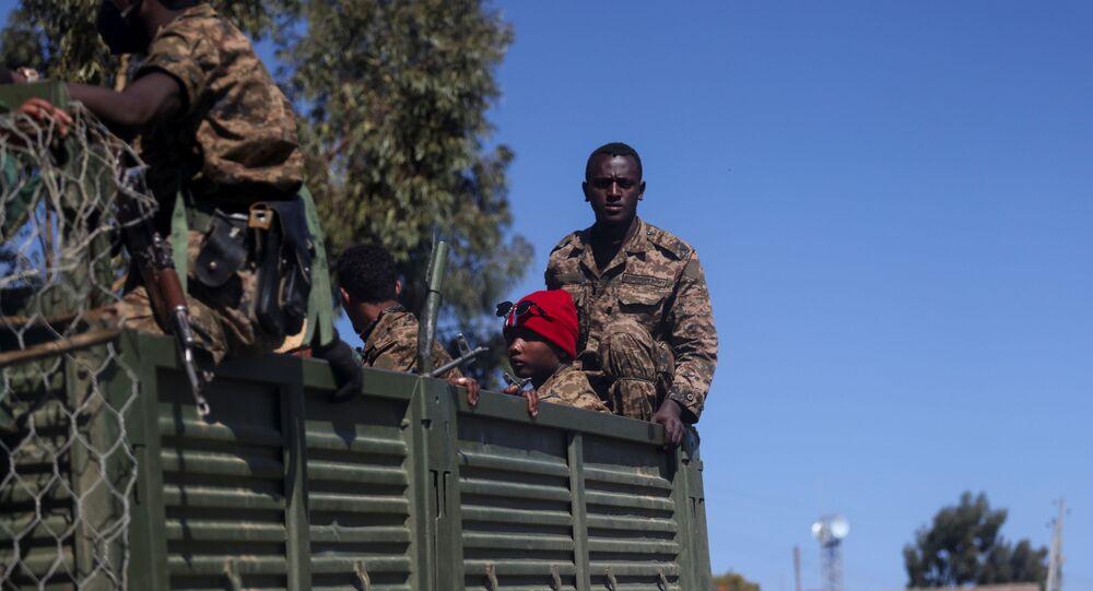 Etiyopya'nın Tigray eyaletinde kasım 2020'den bu yana hükümet güçleri ve isyancılar arasında süren çatışmalar