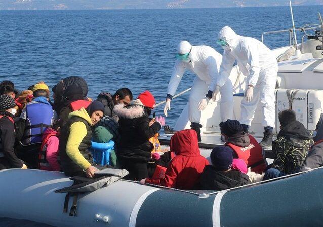 Ege Denizi'nin Midilli Adası bölgesinde Yunanistan tarafından 7 geri itme olayı gerçekleşirken toplam 231 sığınmacı kurtarıldı.