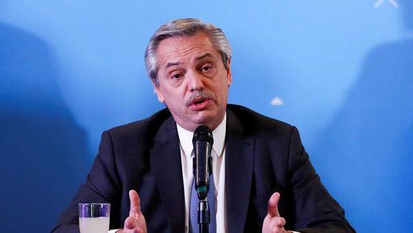 Arjantin Devlet Başkanı Alberto Fernandez - Sputnik Türkiye