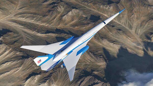 ABD Başkanları için hazırlanan süpersonik uçak - Sputnik Türkiye
