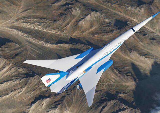 ABD Başkanları için hazırlanan süpersonik uçak
