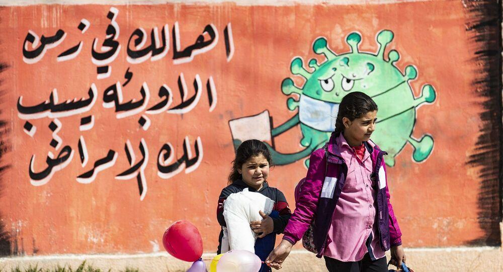 Suriye - Kamışlı - koroanvirüs - pandemi