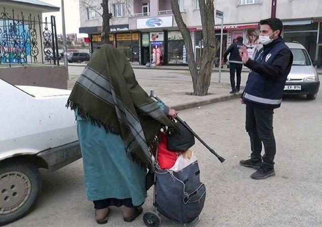 Erzurum'da testi pozitif çıkan Semiha U.