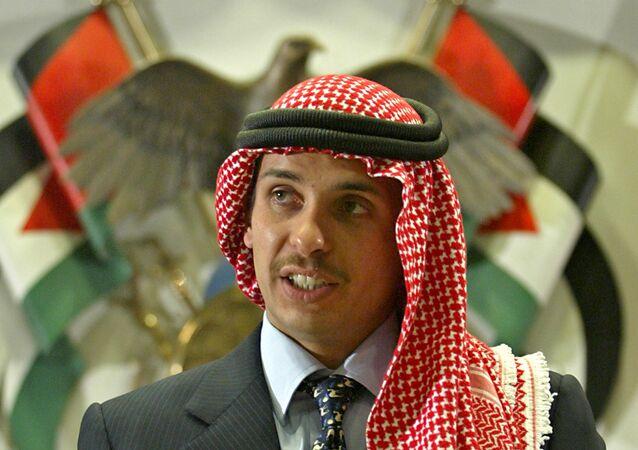 Ürdün Kralı 2. Abdullah'ın kardeşi Prens Hamza bin Hüseyin